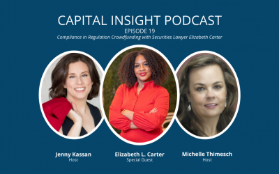 Episode 19: Compliance in Regulation Crowdfunding with Securities Lawyer Elizabeth Carter