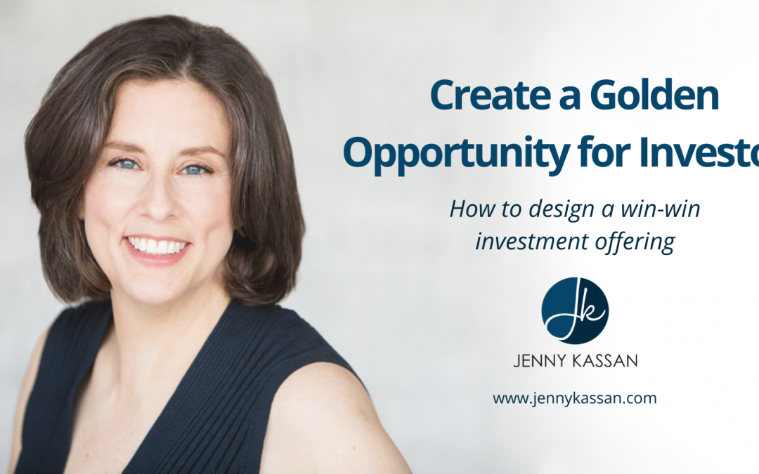 5-Day Challenge:  Create a Golden Opportunity for Investors