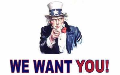 We Want You…