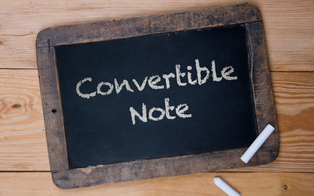 Convertible note cheat sheet