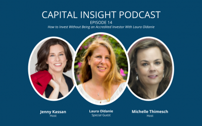 Episode 14: How to Invest without Being an Accredited Investor with Laura Oldanie
